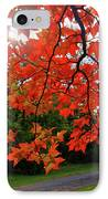 Knox Park 8444 IPhone Case by Guy Whiteley