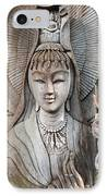 Kuan Yin  IPhone Case by Apatsara Sirirodchanapanya