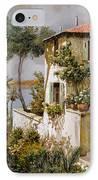 La Casa Giallo-verde IPhone Case