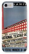 Labor Poster, 1935 IPhone Case by Granger