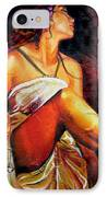 Lady Justice Mini IPhone Case by Laura Pierre-Louis