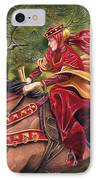 Lady Lunete IPhone Case