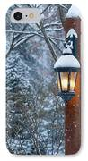 Late Afternoon Snow IPhone Case by Sandra Bronstein