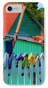 Laundry Day IPhone Case by Debbi Granruth