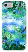 Laying On A Hammock IPhone Case