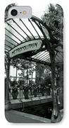 Le Metro As Art IPhone Case