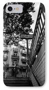 Le Metro From Below IPhone Case by Kathy Yates
