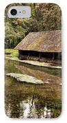 Le Vieux Lavoir IPhone Case by Olivier Le Queinec