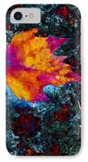 Leaf On Stone IPhone Case