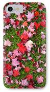 Leafs On Grass IPhone Case