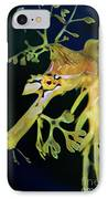 Leafy Sea Dragon IPhone Case by Mariola Bitner