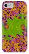Leaves In Fractal 2 IPhone Case