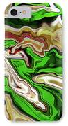 Leaves  IPhone Case by Molly McPherson