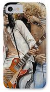 Led Zeppelin IPhone Case by Tom Carlton