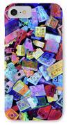 Legos IPhone Case by Barbara Berney