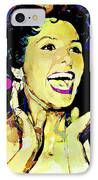 Lena Horne IPhone Case by Lynda Payton