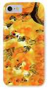 Lichen Abstract 2 IPhone Case by ABeautifulSky Photography