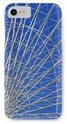 Life Is Like A Ferris Wheel IPhone Case by Christine Till