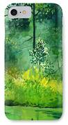 Light N Greens IPhone Case