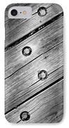 Lightning Bolt IPhone Case by Luke Moore