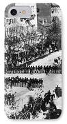 Lincolns Funeral Procession, 1865 IPhone Case