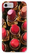 Lipstick Rows IPhone Case by Garry Gay
