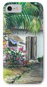 Little West Indian House 2...sold IPhone Case by Karin  Dawn Kelshall- Best