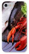 Lobster And Trout IPhone Case