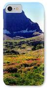 Logans Pass In Glacier National Park IPhone Case
