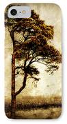 Lone Tree IPhone Case by Julie Hamilton