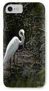 Looking For Lunch IPhone Case by Tamyra Ayles