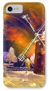 Los Molinos Del Quijote 01 IPhone Case