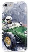 Lotus 18 F2 IPhone Case by Yuriy  Shevchuk