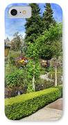 Lovely Day In The Garden IPhone Case by Carol Groenen