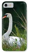 Loving Swans IPhone Case by Clayton Bruster