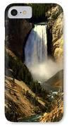 Lower Falls 2 IPhone Case by Marty Koch