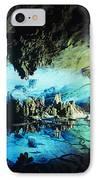 Lu Di Cave IPhone Case by Rita Ariyoshi - Printscapes