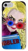 Luna IPhone Case by Lisa Leeman