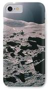 Lunar Rover At Rim Of Camelot Crater IPhone Case by NASA / Science Source
