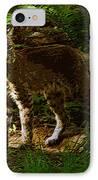 Lynx Rufus IPhone Case