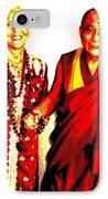 Ma Jaya Sati Bhagavati 13 IPhone Case by Eikoni Images