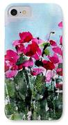 Maddy's Poppies IPhone Case by Anne Duke