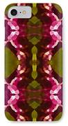 Magenta Crystals Pattern 2 IPhone Case