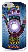 Magic Hand IPhone Case by Arla Patch
