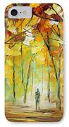 Magical Park IPhone Case by Leonid Afremov