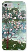 Magnolia IPhone Case by Wilhelm List