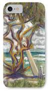 Malaekahana Tree IPhone Case by Patti Bruce - Printscapes