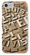 Manhole Cover In St Louis IPhone Case