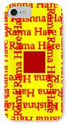 Mantra Block IPhone Case by Eikoni Images