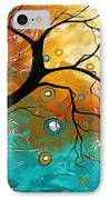 Many Moons Ago By Madart IPhone Case by Megan Duncanson